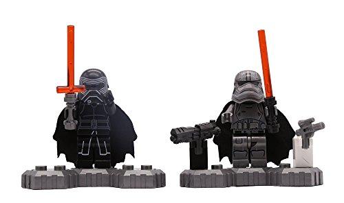 Star-Wars-El-Despertar-de-la-Fuerza-Ray-Finn-Han-Solo-Chewbacca-C-3PO-Kylo-Ren-First-Order-Snowtrooper-Officer-TIE-Fighter-Pilots-First-Order-Stormtrooper-Officer-Juegos-de-construccin-12-pieza