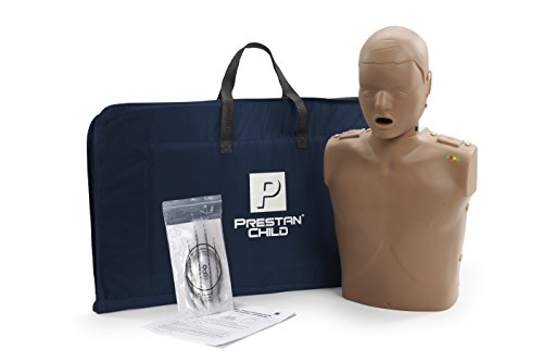 Prestan Child CPR Manikin, Dark Skin Tone (with Rate Monitor)