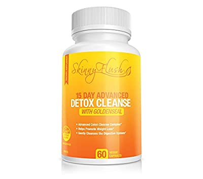 Bloated? Fast Relief! Best Detox Cleanse for Constipation & Water Retention 100% Guaranteed! Plus 15 Day Colon Flush For Rapid Weight Loss - Results in just 12 hours! - 60 Fiber Pills