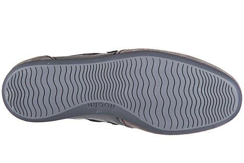 Hogan zapatos zapatillas de deporte hombres en ante nuevo olympia slash h flock