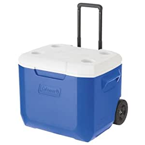 Coleman Performance Wheeled Cooler, Blue, 57 liter