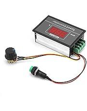 DC Motor Speed Controller, 6-60V 12V 24V 36V 48V 30A PWM DC Motor Speed Controller Regulator Variable Speed Switch Control Circuit Board, Start Stop Switch