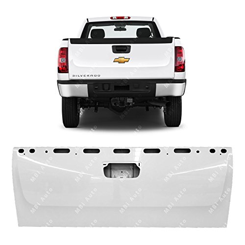 Painted Tailgates gm1900125EP-8624 Chevy and GMC Truck Tailgate with Easy Close Painted White ()