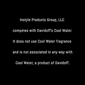 Perfect Scents Inspired by Davidoff's Cool Water - Cologne for Men - 2.5 Fluid Ounces