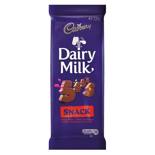Cadbury Dairy Milk Snack Big Bar 220g.