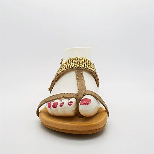 Footwear Khaki en Barre London Vert femme T d4YwdUq