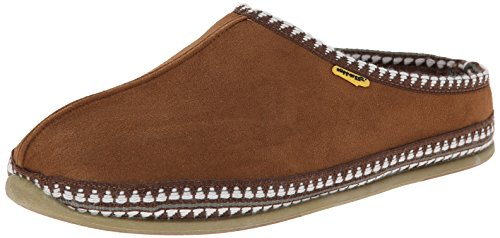 Deer Stags Men's Wherever Slipper,Chestnut,11 M US