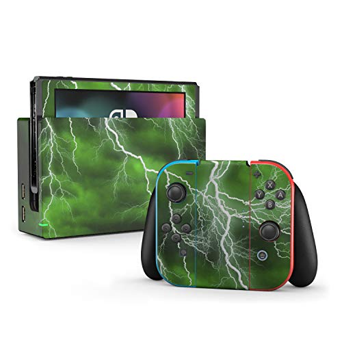 - Apocalypse Green - Decal Sticker Wrap - Compatible with Nintendo Switch