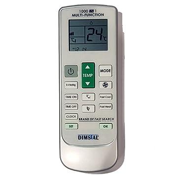 Universal Fernbedienung fr Klimaanlage Klimagert 1000 in 1 ...