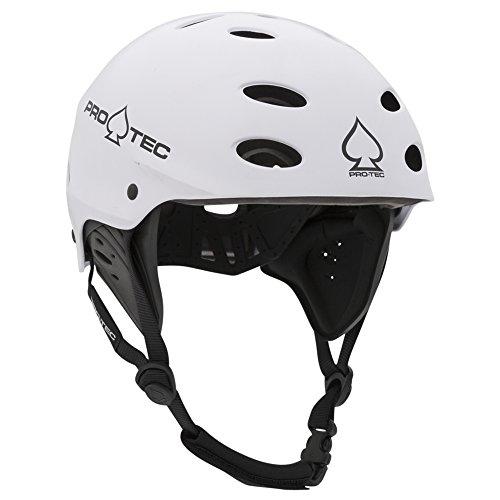 Pro-Tec - Ace Wake Helmet, Satin White, M (Ski Riot)