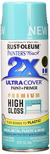 RUST-OLEUM 331175 Painters Touch 2X 12 OZ St. Tropez Gloss Spray Paint, 1