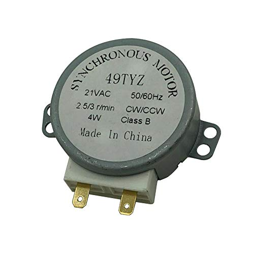 MAYITOP WB26X10038 Drive Motor for GE Microwave Turntable PS237772 AP2024962