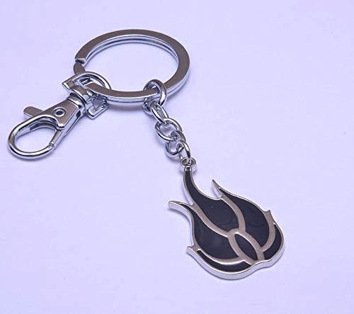 (Momoso_Store anime rwby blake belladonna necklace keychain key rings metal pendant cosplay gift new kids otaku)