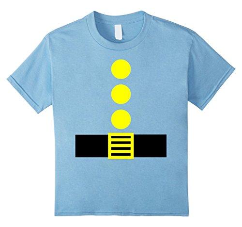 Kids Halloween Party Group Matching Dwarf Shirt for Teacher Team 4 Baby Blue