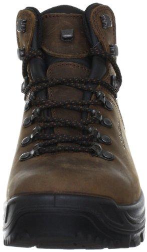 Alpina 680203 680203 - Zapatillas de senderismo de cuero unisex Marrón