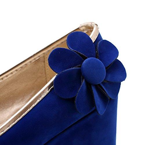 alto Blu pompe Balamasa con da Blu tacco donna zx007w1