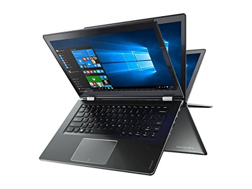 2017 Flagship Lenovo Business Flex 4 Flip 2-in-1 14'' FHD IPS Touchscreen Laptop/tablet - Intel Dual-Core i7-6500U 2.5GHz, 16GB DDR4, 256GB SSD, AMD Radeon R5 M430 2GB, Backlit Keyboard, WLAN, Win 10 by Lenovo Flex 4