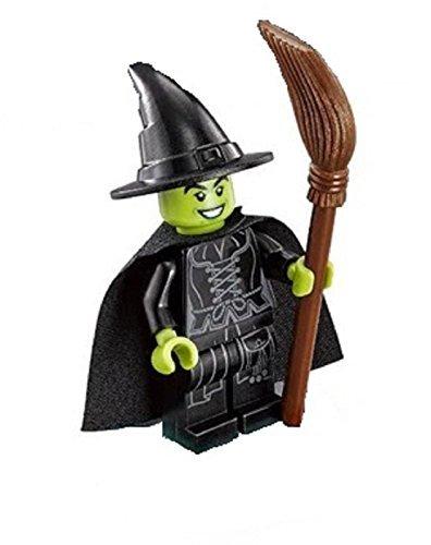 LEGO Wizard of Oz Minifigure - Wicked Witch with Broom - Witch Wizard Of Oz