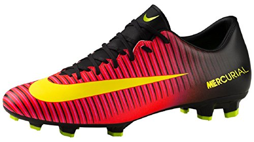 Nike 847756-870, Botas de Fútbol para Hombre Naranja (Total Crimson / Volt / Black / Pink Blast)