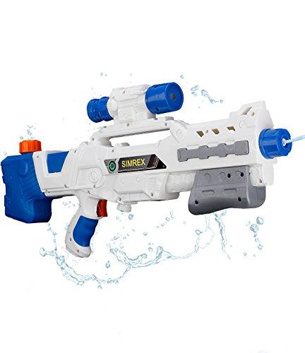 SIMREX 528 물총초 강력 비거리 고성능 워터 건 [블루]