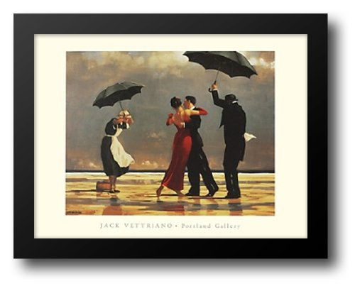 - The Singing Butler, c.1992 36x28 Framed Art Print by Vettriano, Jack