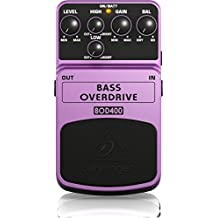 Behringer BOD400 Bass Overdrive Authentic Tube-Sound Overdrive Effects Pedal