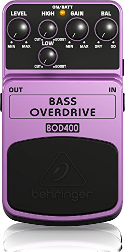 (Behringer Bass Overdrive BOD400 Authentic Tube-Sound Overdrive Effects Pedal)