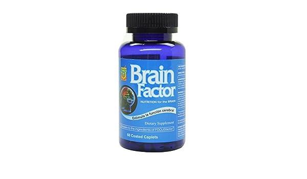 Amazon.com: Brain Factor Vitaminas para el cerebro, mejoran ...