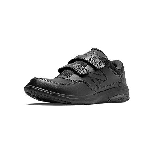 - New Balance Men's MW813V1 Hook and Loop Walking Shoe, Black, 9.5 D US