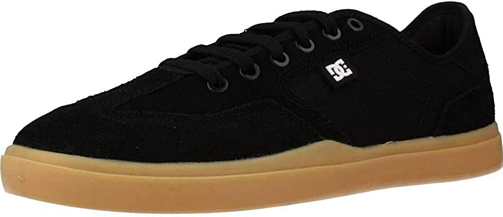 DC Shoes Vestrey, Chaussures de Skateboard Homme Black Gum