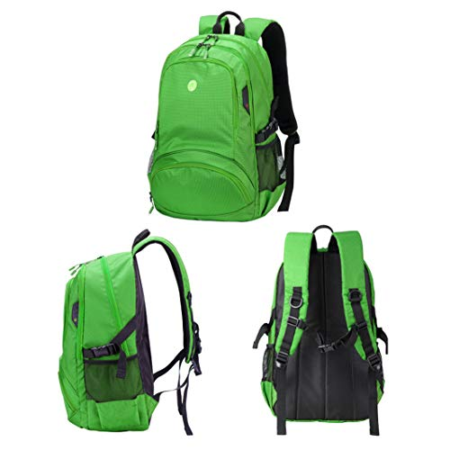donne maschile il per grande studenti impermeabile campus capacità spalla portatile Zipper tempo libero Jybag ragazze zaino per uomini di verde Boy viaggio TFAgOwcqUE