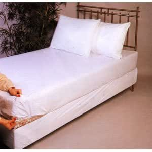 Soft Vinyl Fitted Mattress Cover, Cot Size 30 x 75