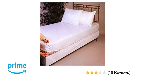 Amazon.com: Soft Vinyl Fitted Mattress Cover, Cot Size 30 x 75: Home & Kitchen