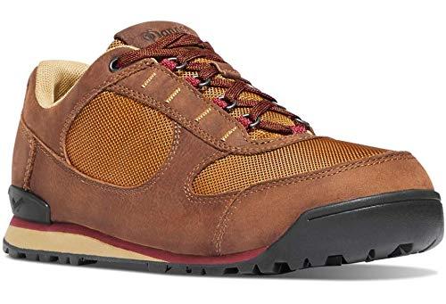 Danner Men's Jag Low Shoe, Monk's Robe/Chili Pepper - 10.5 - Robe Footwear