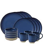 Royal Doulton Ellen Degeneres Brushed Glaze 16 Piece Dinnerware Set