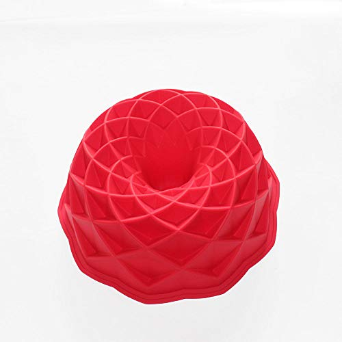 Marrakesh Bundt Cake Pan Round Bread Gelatin Jello Baking Silicone Mold