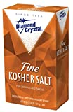 Diamond Crystal Fine Kosher Salt 4 Pound -- 12