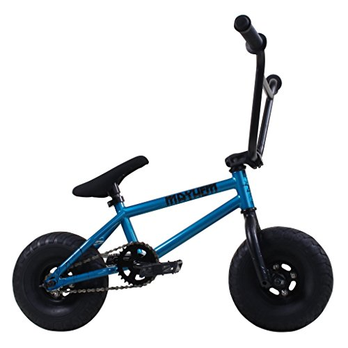 Mayhem Fat Tire Mini BMX Riot Aqua Crank Newest Model Trick Bike