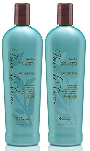 Bain De Terre Jasmine Moisturizing Shampoo and Conditioner Set (13.5 Duo)