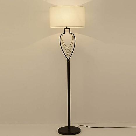 Dormitorio WXH Lámpara Moderna China lámpara pie LED de de DHW2IE9Yeb