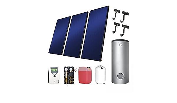 Solar Westech ES completamente 4 + THKE600 colectores planos ...