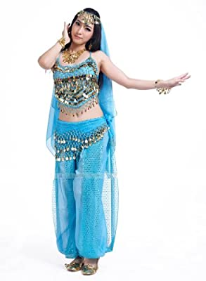 Seawhisper 12 Colors Belly Dance Costumes India Dance Outfit Halloween Carnival