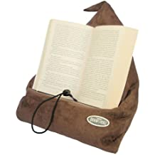 The Book Seat - Book Holder and Travel Pillow - Mocha