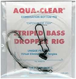 Details about  /STRIPED BASS Fish Finder Rigs Striper Drum Shark Catfish Cobia 40lb 7//0 Hook