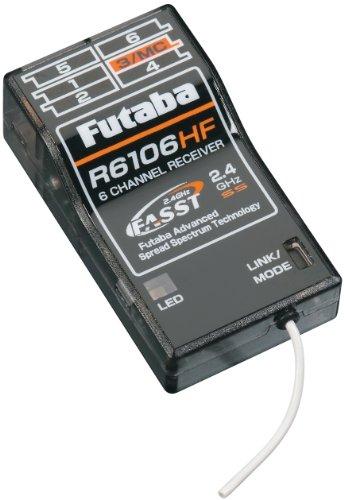 Futaba R6106HF 2.4GHz FASST 6 Channel Rx Park Flyer Receiver