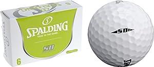 Spalding-Golfball, Weiß, 6 Stück