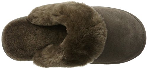 Warmbat Damen Flurry Pantoffeln Braun (Pebble)