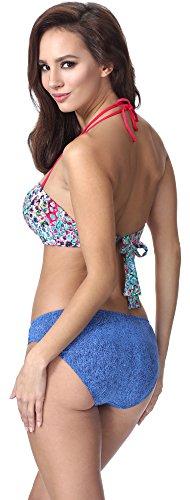 Donna 318 Bikini F15 Up Motivo Feba Push SdWgcSq