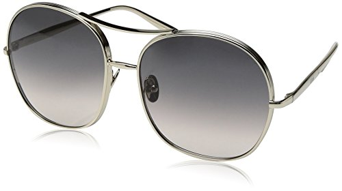 Chloe Women's Nolla - CE128SL Gold/Grey - Round Chloe Frame Sunglasses