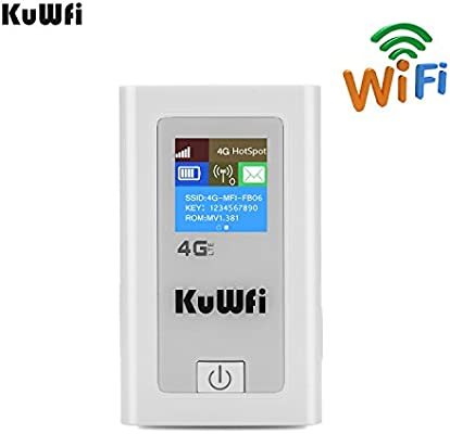 KuWFi Portable 5200mAH Power Bank 3G 4G Wireless Router